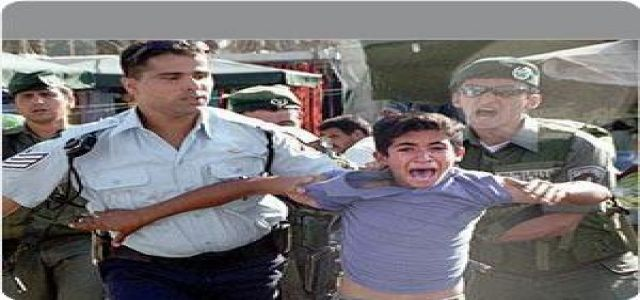 Israeli troops kidnap 700 children every year