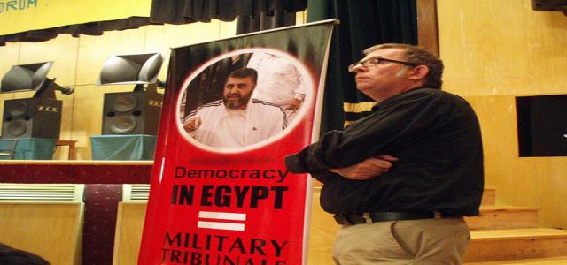 MB deputy chairman Al-Shater victim of Egypt 's deliberate litigation procedures