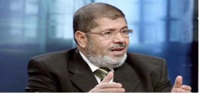 Morsi Hails Efforts to End Violence