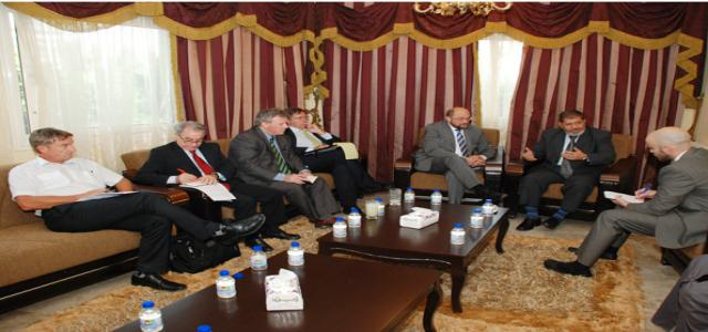 FJP Official Meets With EU Delegation