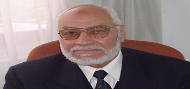 Interview with Muslim Brotherhood's Chairman, Mehdi Akef