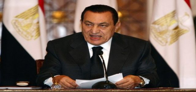 Mubarak's words anger opposition who argue that he practise what he preaches