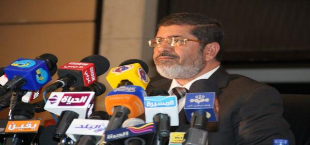 Dr. Morsi Meets with Union of Investors Association