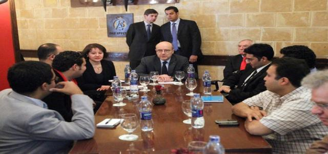 French FM meets with MB and other representatives