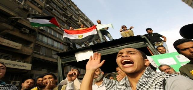 Alexandria's Youth Calls for Million Man March in Solidarity with Palestinian Uprising