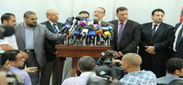Erian: FJP Boycotted SCAF's Meeting with Parties, Holds it Responsible for Abbassiya Bloodshed