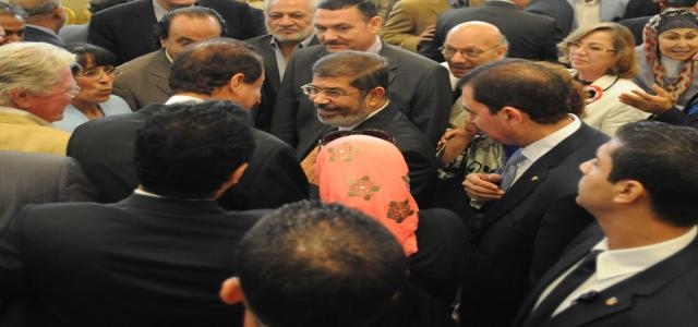 Sayed Darwish Welcomes President Morsi's Meet with Artists, Saying Art is Locomotive of Progress