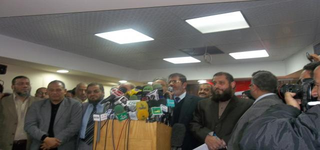 Seeking Consensus, the FJP Remains Wary of Alliance with Salafis