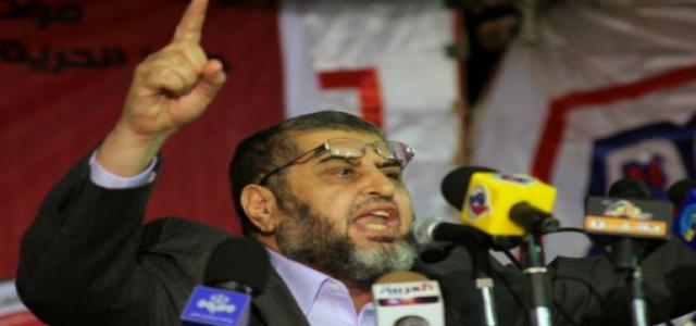 Al-Shater Supports Dr. Morsi for Presidency and Protection of the Revolution