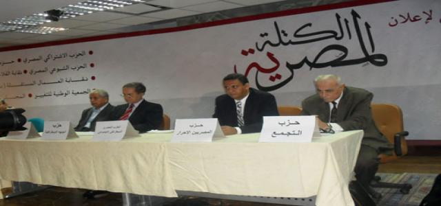 Newly Formed Egyptian Bloc to Compete in Elections, FJP Welcomes