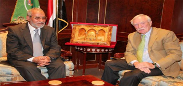 French Ambassador Visits Muslim Brotherhood Chairman