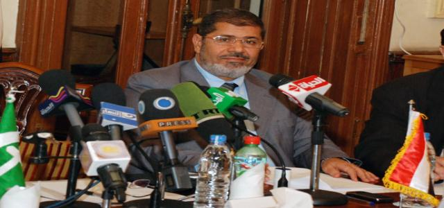Dr. Morsi's Electoral Program – General Features of Nahda (Renaissance) Project