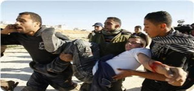 3 Palestinian youths injured in blast of Israeli army ordnance