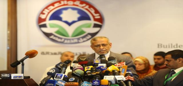 Muslim Brotherhood Launches 'Together We Build Egypt' Campaign Tuesday