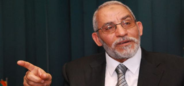 MB Chairman calls on the world to unite and defend victims of Israeli aggression