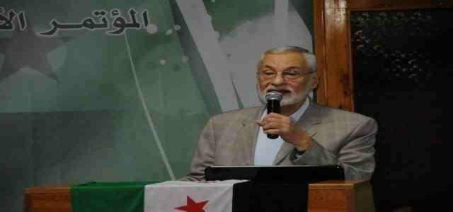Syria Muslim Brotherhood Former Leader Bayanouni: Islamic State (IS) Major Threat to Syrian Revolution