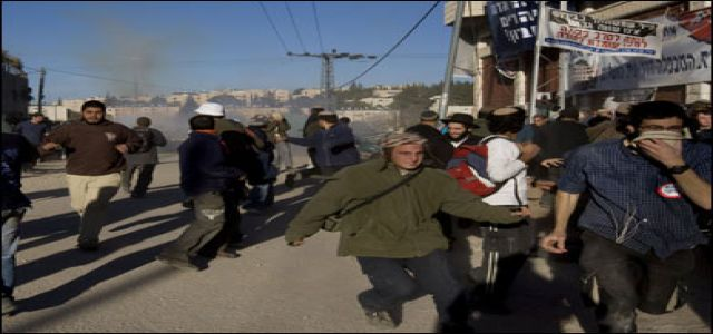 Settlers' attacks on Palestinians soar in March