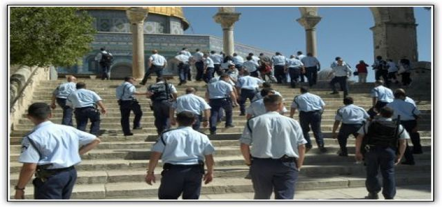 Jewish extremists raid Aqsa Mosque and prevent entry of worshipers