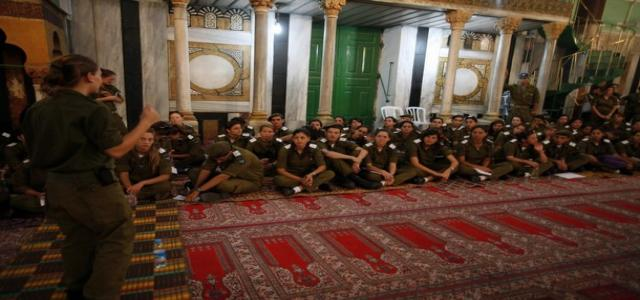 IOA banned Azan at Ibrahimi mosque 79 times in September