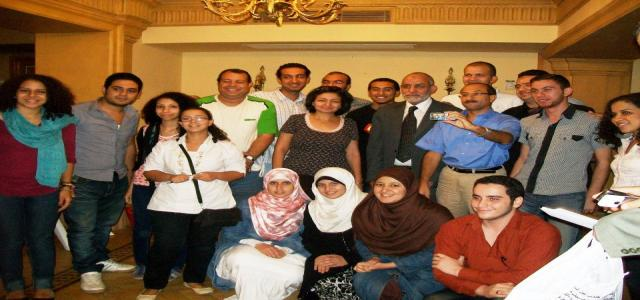 MB Chairman Meets with Muslim and Copt Youth