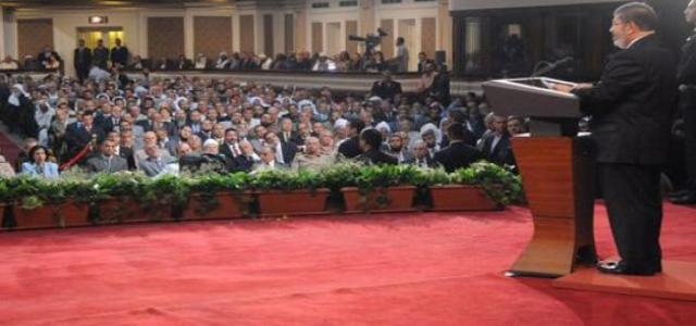 President Mohamed Morsi's Speech at Cairo University, Saturday, June 30, after Taking Oath of Office