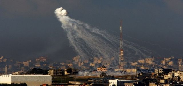 Israeli occupation airforce launch 4 raids on Gaza