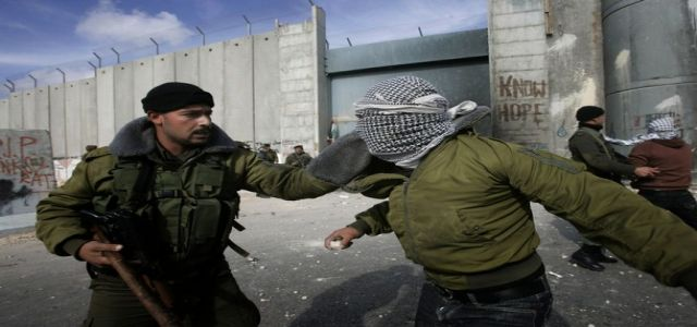 IOF troops violently quell demonstrations in Ramallah, Nablus districts
