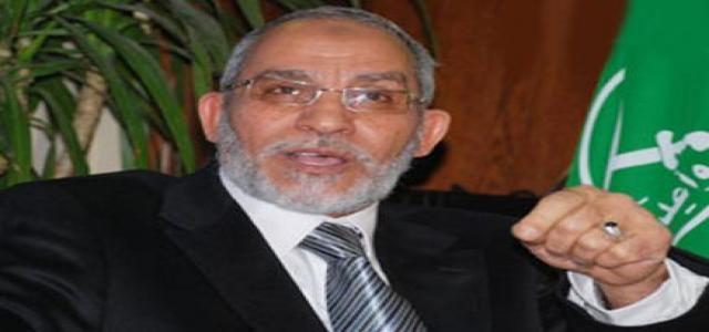 Muslim Brotherhood Chairman Congratulates Egyptians on Adoption of New National Charter