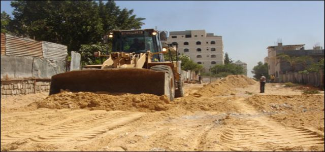 Ministry of Public Works starts rebuilding destroyed homes