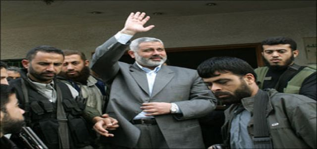 Haniyeh welcomes US shift, says willing to talk