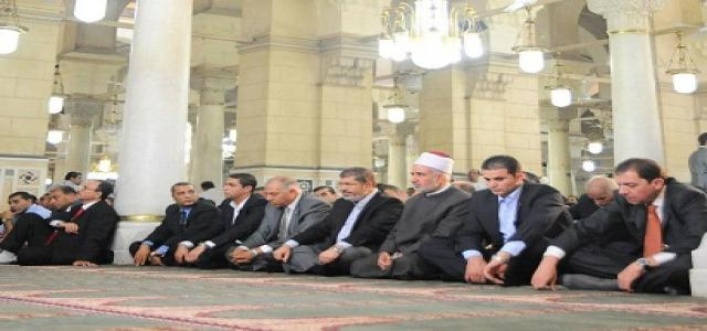 The Truth in What Happened at Sharbatli Mosque Where Egypt President Performed Friday Prayers