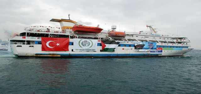 Where is the American freedom flotilla?