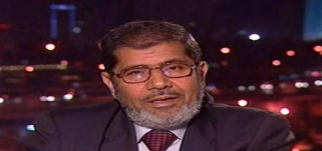 Morsy: Ruling regime must commit itself to respect the nation's call for reform