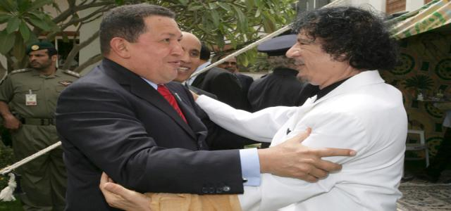 Chavez's peace plan agreed on by Gaddafi and Mousa