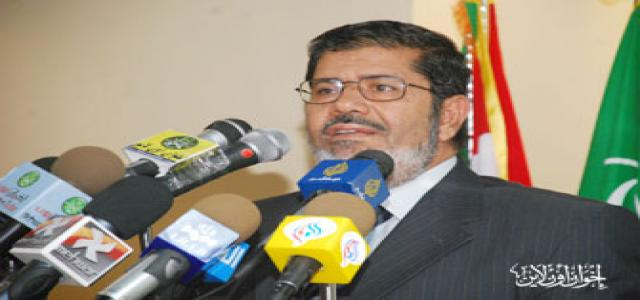 Morsy: Egypt's interests are at the top of MB priorities