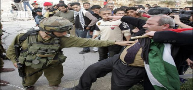 IOF soldiers detain 8 foreigners in Beit Jala march