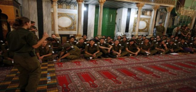 Jewish extremists violate Ibtin mosque and deface it with racial slurs