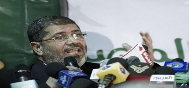 Dr. Morsi: We Have a Great Deal of Faith in the People