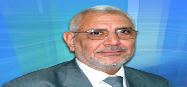 Interview With Dr. Abdel Monem Abul-Futouh