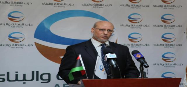 Libya's Justice & Construction Party Announces Its Support for National Unity Government