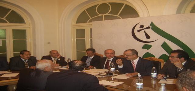 Democractic Alliance Discusses Popular Demands in Meeting With SCAF