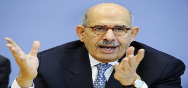 Ex-UN nuclear chief forms reform group in Egypt