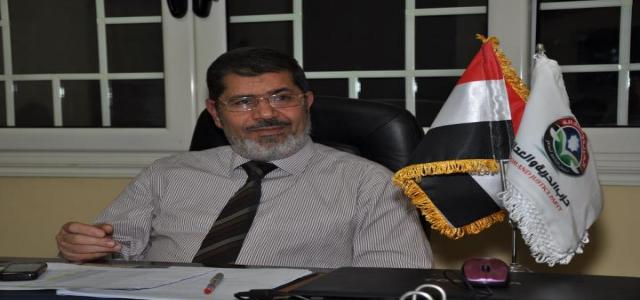 Morsi Vows to Form a United Front Against Former Regime