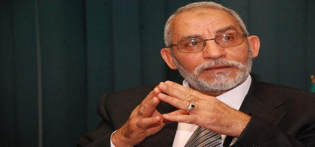 Badie Calls For Urgent National Dialogue, Stresses Investigation and Retribution for Port Said Massacre