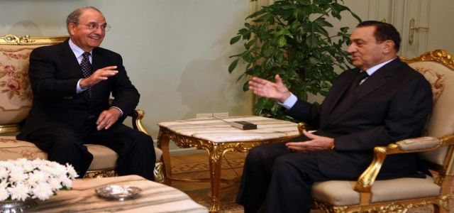 President Mubarak meets with Mitchell