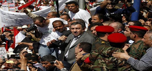 PM Sharaf claims legitimacy is drawn from the people