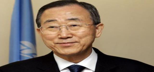 Ban Ki-Moon meets with Egypt officials and MB spokesman