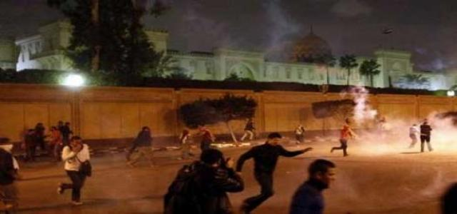 Muslim Brotherhood Disassociates Itself from Any Acts of Violence Against Anti-Morsi Protests