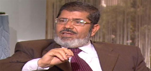 Dr. Morsi Receives Foreign Minister of Burundi