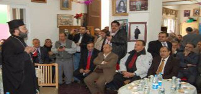 FJP and MB Delegation Visit Roman Orthodox Church in Damietta